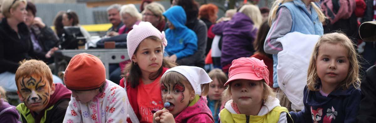 V areálu pod Světem pořádáme i akce pro děti.